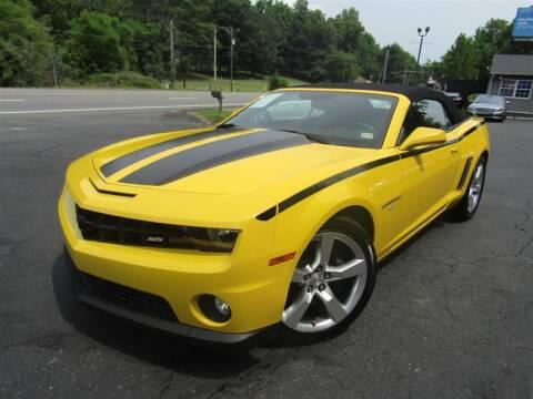 2011 Chevrolet Camaro for sale at Guarantee Automaxx in Stafford VA