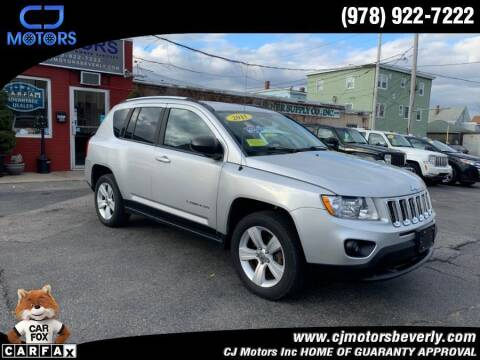 2011 Jeep Compass for sale at CJ Motors Inc. in Beverly MA