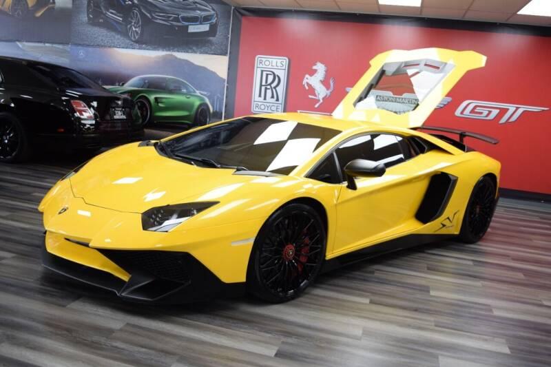 2016 Lamborghini Aventador for sale at Icon Exotics in Houston TX