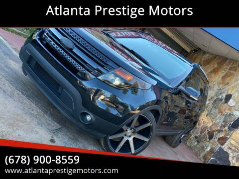 2013 Ford Explorer for sale at Atlanta Prestige Motors in Decatur GA