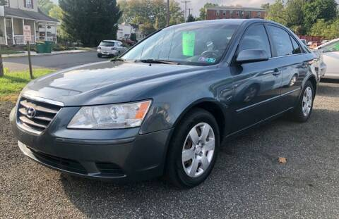 2009 Hyundai Sonata for sale at Mayer Motors of Pennsburg - Green Lane in Green Lane PA