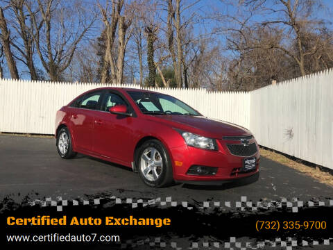 2012 Chevrolet Cruze for sale at Certified Auto Exchange in Keyport NJ