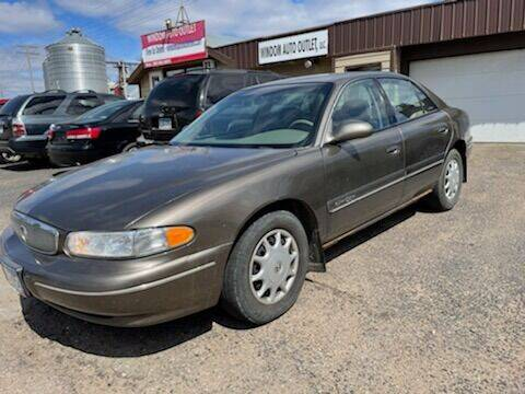 2002 Buick Century for sale at WINDOM AUTO OUTLET LLC in Windom MN