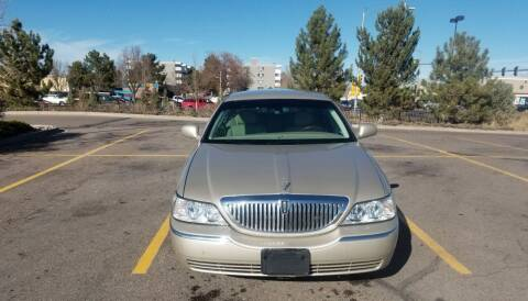 2009 Lincoln Town Car for sale at Red Rock's Autos in Denver CO