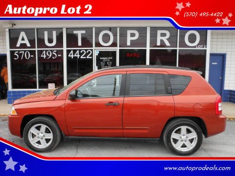 2008 Jeep Compass for sale at Autopro Lot 2 in Sunbury PA
