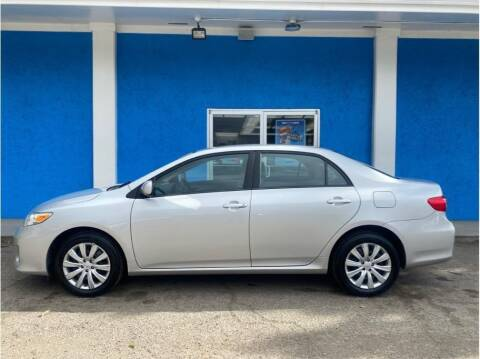2012 Toyota Corolla for sale at Khodas Cars - buy here pay here in Gilroy, CA