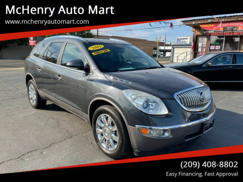 2011 Buick Enclave for sale at McHenry Auto Mart in Turlock CA