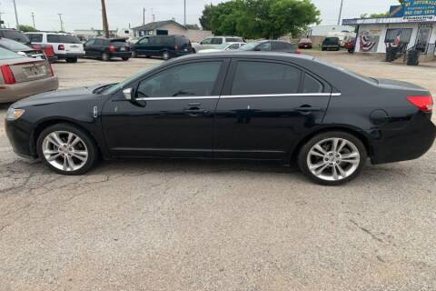 2011 Lincoln MKZ for sale at WF AUTOMALL in Wichita Falls TX