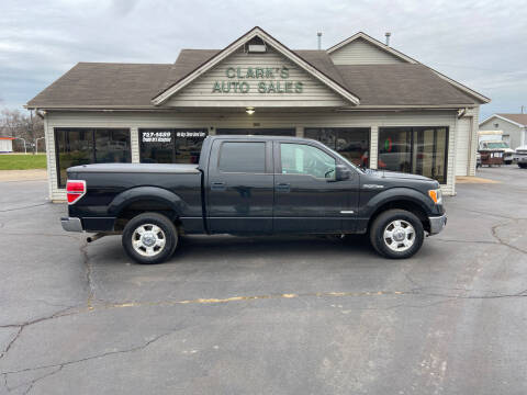 2011 Ford F-150 for sale at Clarks Auto Sales in Middletown OH