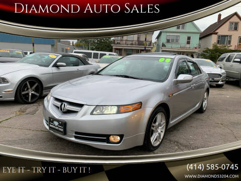 2008 Acura TL for sale at Diamond Auto Sales in Milwaukee WI