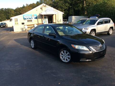 2009 Toyota Camry Hybrid for sale at Irving Auto Sales in Whitman MA