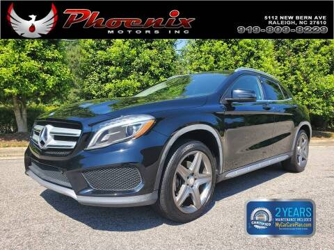 2015 Mercedes-Benz GLA for sale at Phoenix Motors Inc in Raleigh NC