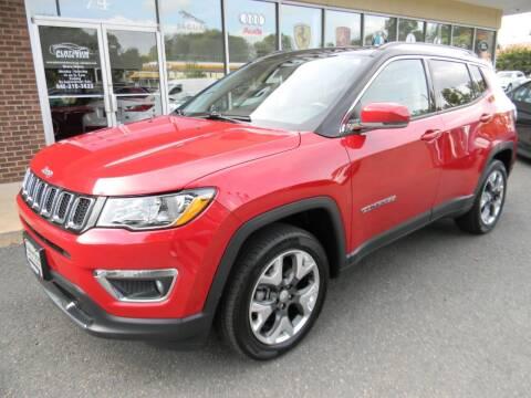 2017 Jeep Compass for sale at Platinum Motorcars in Warrenton VA
