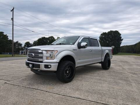 2015 Ford F-150 for sale at Priority One Auto Sales in Stokesdale NC