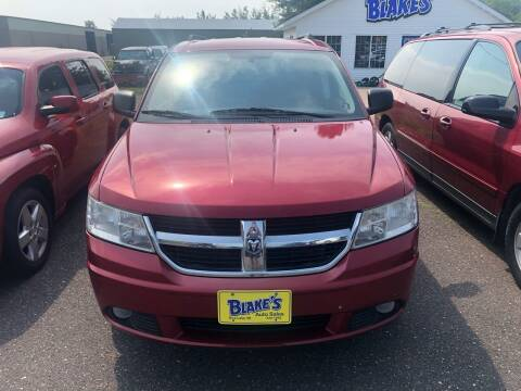 2009 Dodge Journey for sale at Blakes Auto Sales in Rice Lake WI