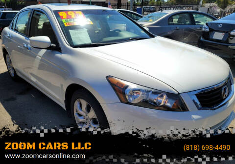 2010 Honda Accord for sale at ZOOM CARS LLC in Sylmar CA