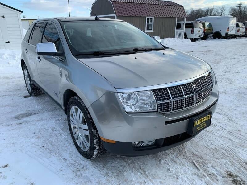 2008 Lincoln MKX for sale at 51 Auto Sales Ltd in Portage WI