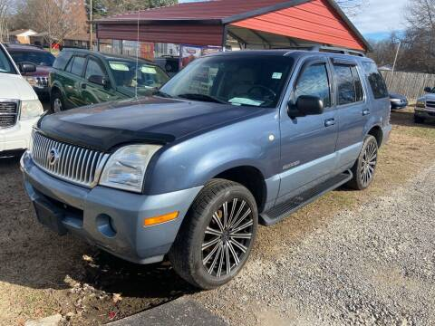 2002 Mercury Mountaineer for sale at Sartins Auto Sales in Dyersburg TN