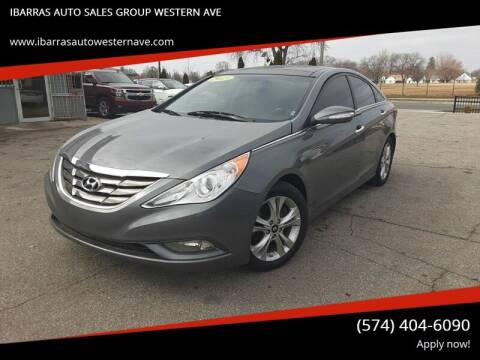 2013 Hyundai Sonata for sale at Ibarras Group - IBARRAS AUTO SALES GROUP WESTERN AVE in South Bend IN