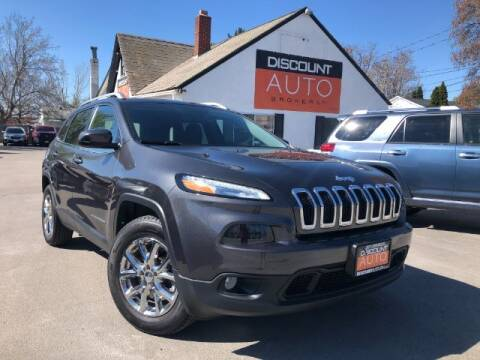 2016 Jeep Cherokee for sale at Discount Auto Brokers Inc. in Lehi UT