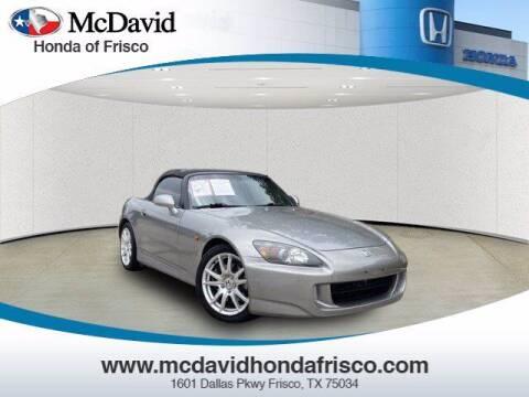 2004 Honda S2000 for sale at DAVID McDAVID HONDA OF IRVING in Irving TX