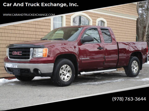 2008 GMC Sierra 1500 for sale at Car and Truck Exchange, Inc. in Rowley MA