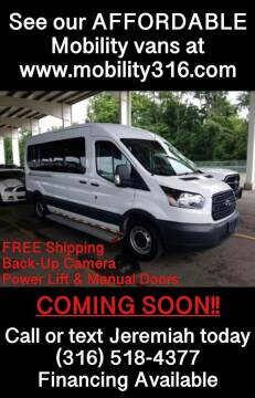 2017 Ford Transit Passenger for sale at Affordable Mobility Solutions, LLC - Mobility/Wheelchair Accessible Inventory-Wichita in Wichita KS