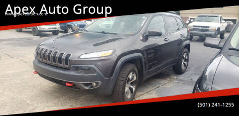 2015 Jeep Cherokee for sale at Apex Auto Group in Cabot AR