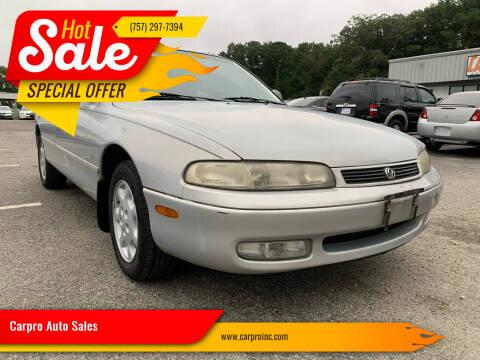 1994 Mazda 626 for sale at Carpro Auto Sales in Chesapeake VA