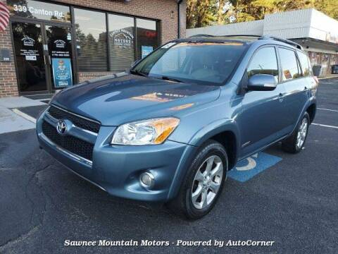 2009 Toyota RAV4 for sale at Michael D Stout in Cumming GA