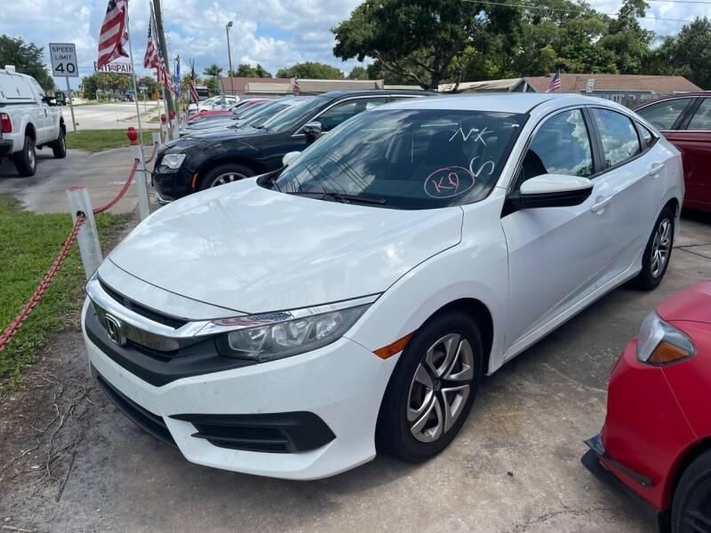 2016 Honda Civic for sale at P J Auto Trading Inc in Orlando FL