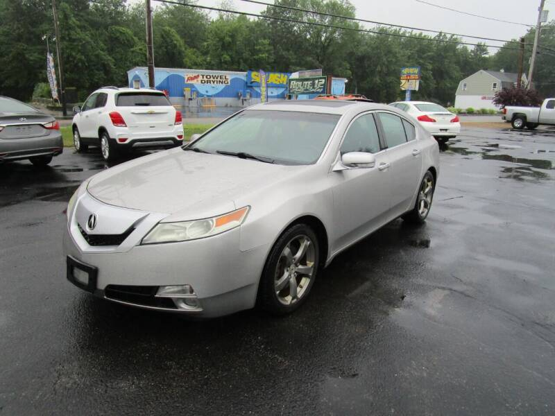 2010 Acura TL for sale at Route 12 Auto Sales in Leominster MA