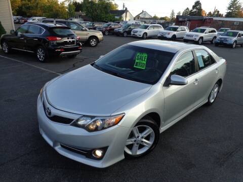 2014 Toyota Camry for sale at BETTER BUYS AUTO INC in East Windsor CT