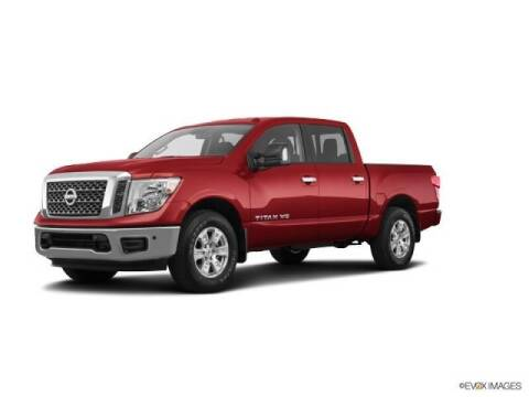 2018 Nissan Titan for sale at FREDYS CARS FOR LESS in Houston TX