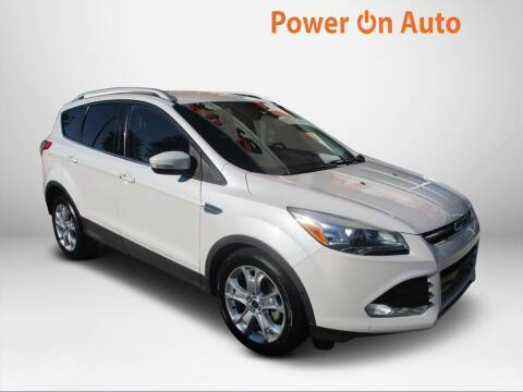 2014 Ford Escape for sale at Power On Auto LLC in Monroe NC