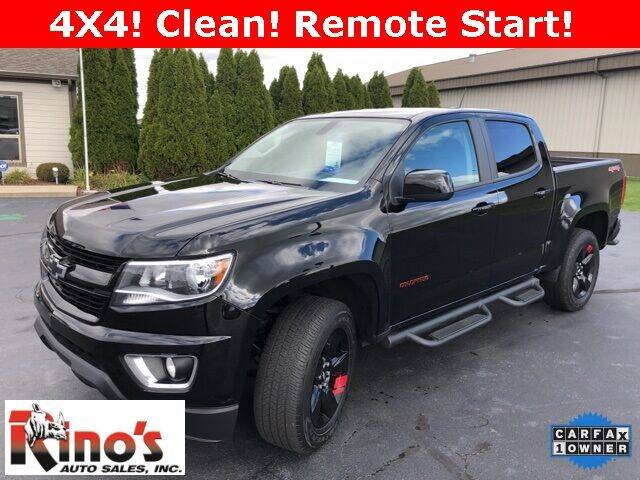 2018 Chevrolet Colorado for sale at Rino's Auto Sales in Celina OH