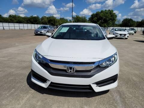 2016 Honda Civic for sale at JJ Auto Sales LLC in Haltom City TX