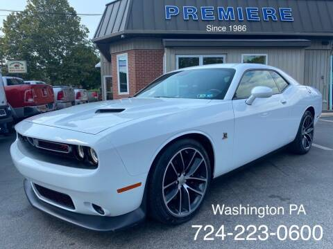 2016 Dodge Challenger for sale at Premiere Auto Sales in Washington PA