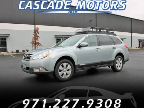 2012 Subaru Outback for sale at Cascade Motors in Portland OR