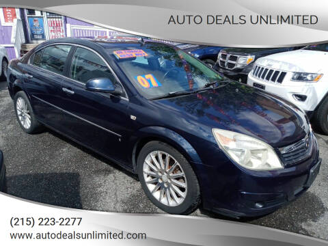 2007 Saturn Aura for sale at AUTO DEALS UNLIMITED in Philadelphia PA
