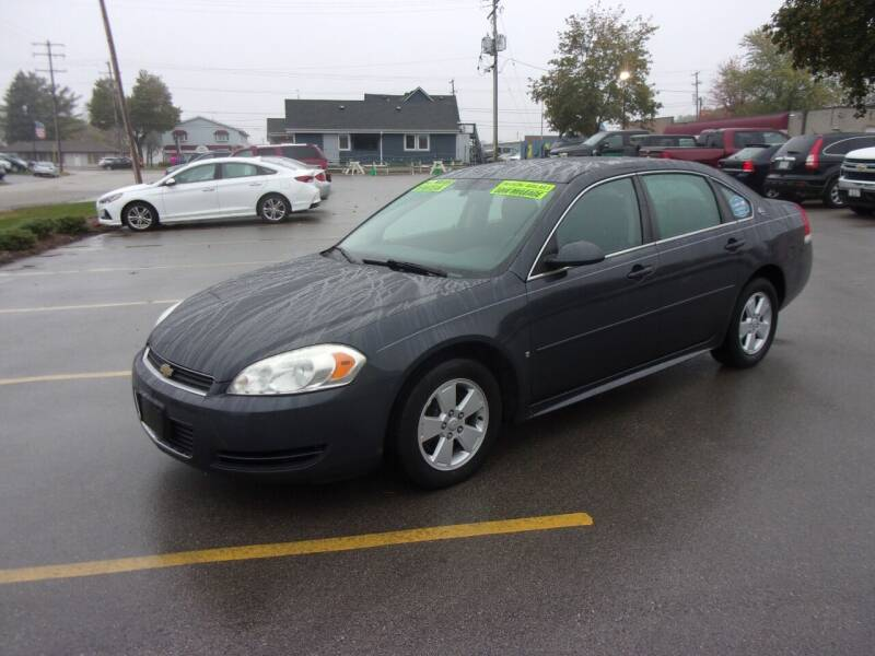 2009 Chevrolet Impala for sale at Ideal Auto Sales, Inc. in Waukesha WI
