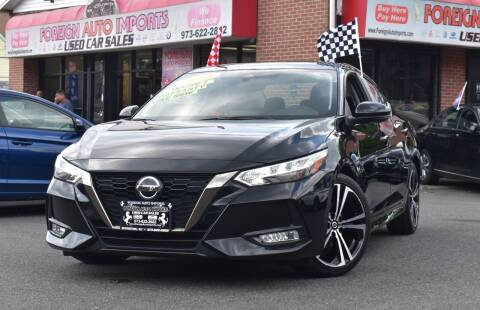 2020 Nissan Sentra for sale at Foreign Auto Imports in Irvington NJ