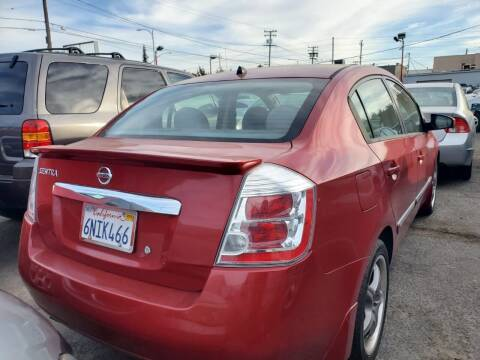 2012 Nissan Sentra for sale at McHenry Auto Sales in Modesto CA