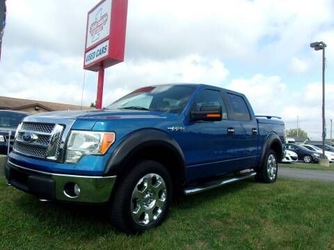 2010 Ford F-150 for sale at DAVE KNAPP USED CARS in Lapeer MI