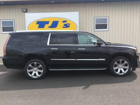 2017 Cadillac Escalade ESV for sale at TJ's Auto in Wisconsin Rapids WI