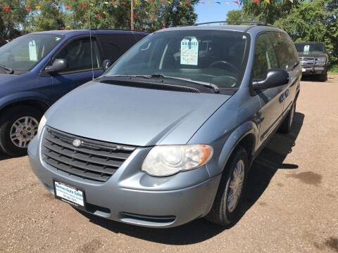 2006 Chrysler Town and Country for sale at BARNES AUTO SALES in Mandan ND