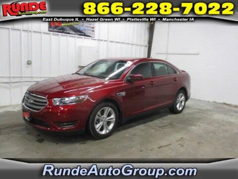 2019 Ford Taurus for sale at Runde Chevrolet in East Dubuque IL