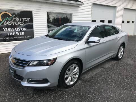 2019 Chevrolet Impala for sale at HILLTOP MOTORS INC in Caribou ME