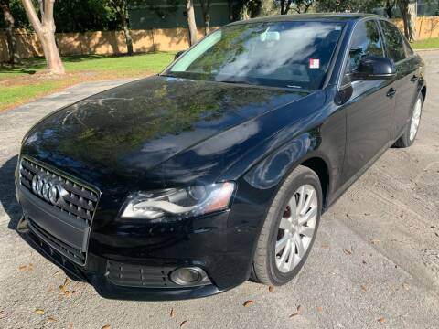 2009 Audi A4 for sale at Eden Cars Inc in Hollywood FL