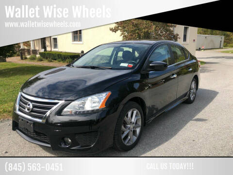 2013 Nissan Sentra for sale at Wallet Wise Wheels in Montgomery NY